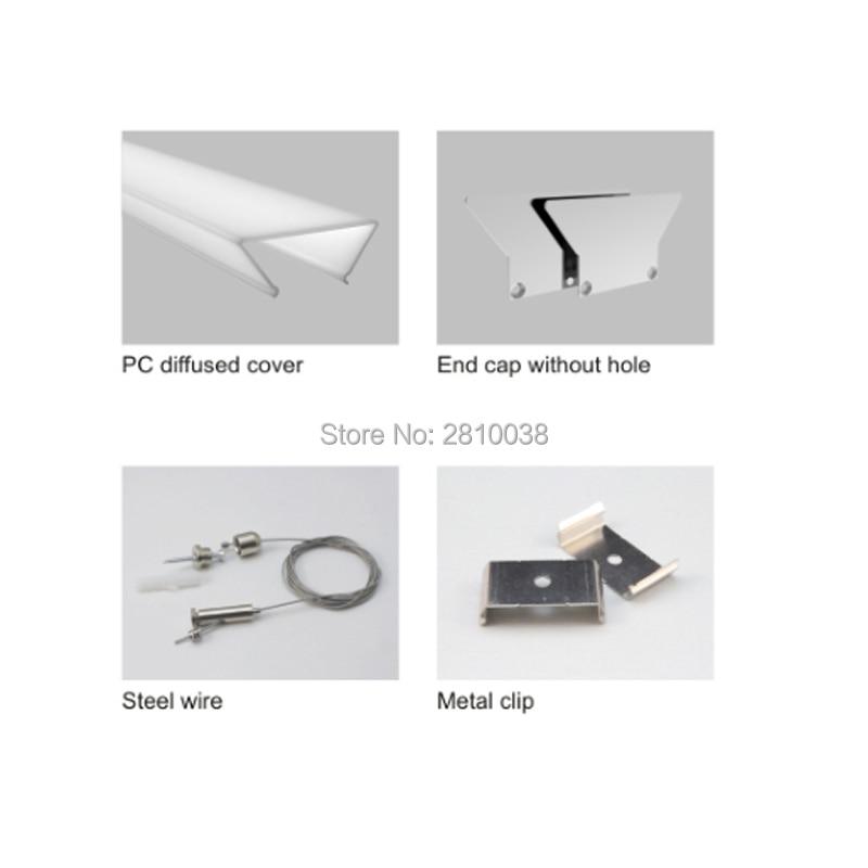 canal de aluminio para pendurar perfil led super alto tamanho 02