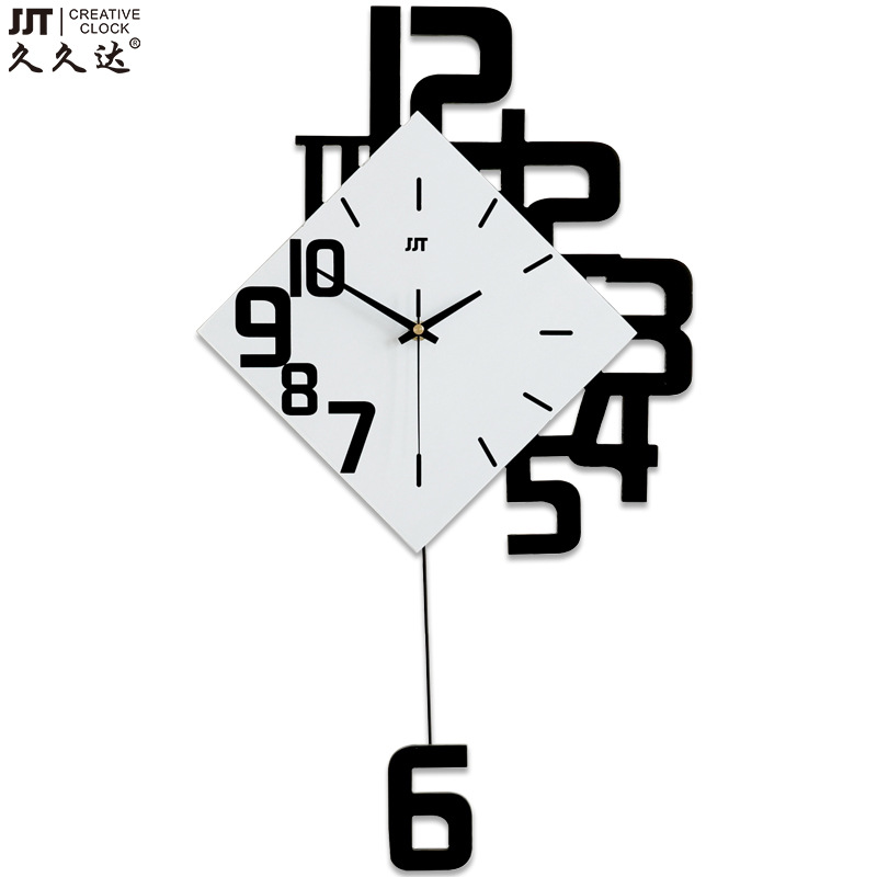 Creative number fashion wood  large wall clock  best selling products dropshipping Modern clocks for living roomCreative number fashion wood  large wall clock  best selling products dropshipping Modern clocks for living room