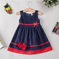 Dress for girls brand novatx girls children clothing appliques girl clothes sleeveless Spring Autumn Winter princess party dress