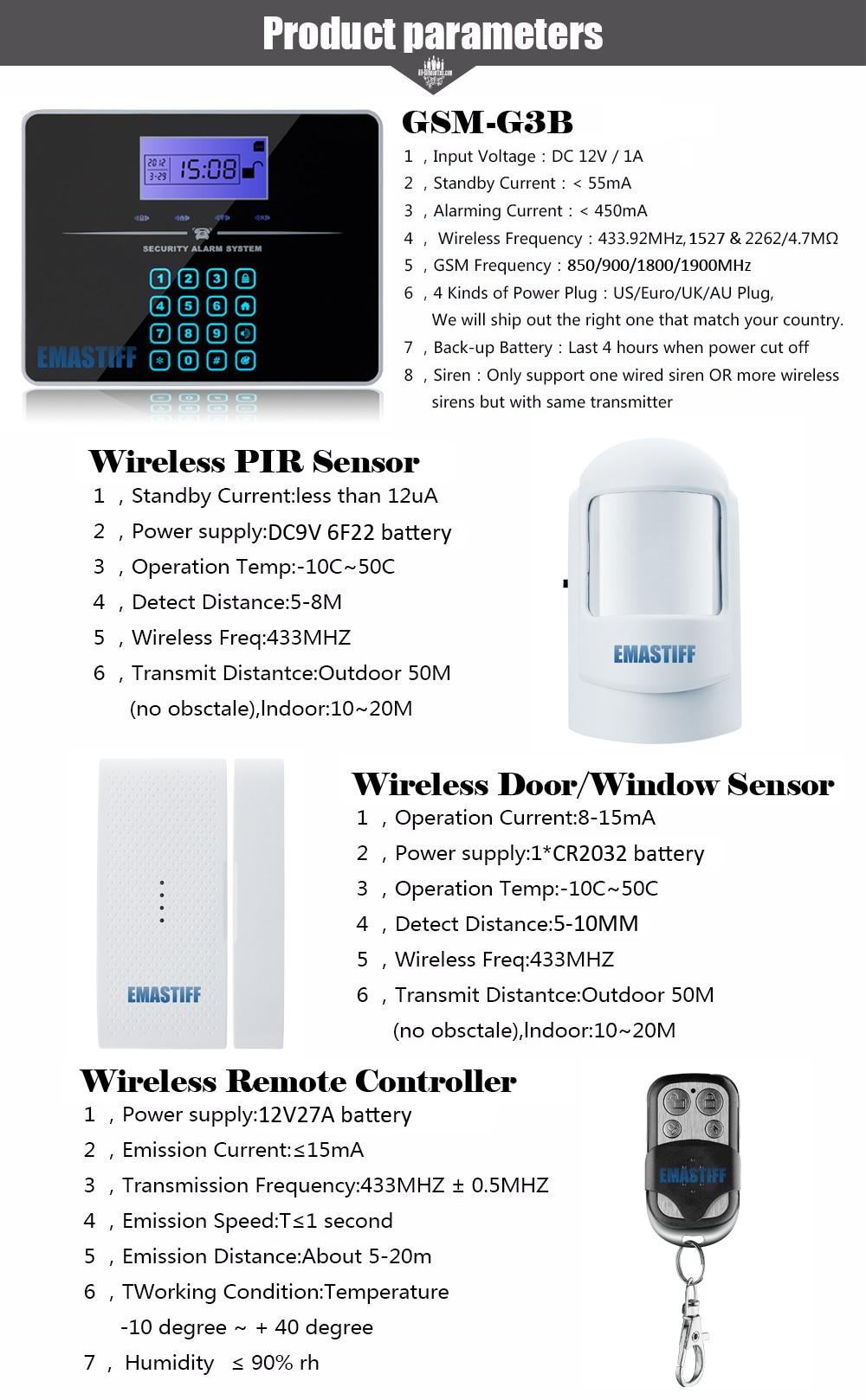 Touch Keypad G3b English Lcd Wireless 433mhz Sms Gsm Home Automation An Expandable Multi Zone Modular Burglar Alarm Htb10rlxrpxxxxaxxpxxq6xxfxxxb