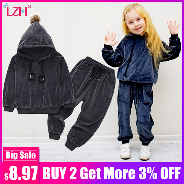 Children Clothing 2019 Spring Winter Toddler Girls Clothes Set Outfits Kids Boys Clothes Tracksuit Suits For Girls Clothing Sets