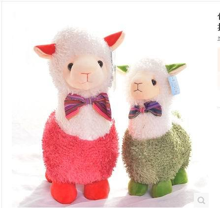 Free Shipping Hight quality 38cm cute Amuse Alpaca Plush Toy sheep lamp doll.Best gif for children ,firend,love hight quality freckle removing skin whitening increase elasticity fish collagen powder 1kg free shipping