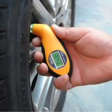 Цифровой манометр для измерения давления в шинах, диагностические инструменты, манометр, барометры, тестер, ЖК-дисплей, давление воздуха в шинах для автомобиля, мотоцикла, колеса