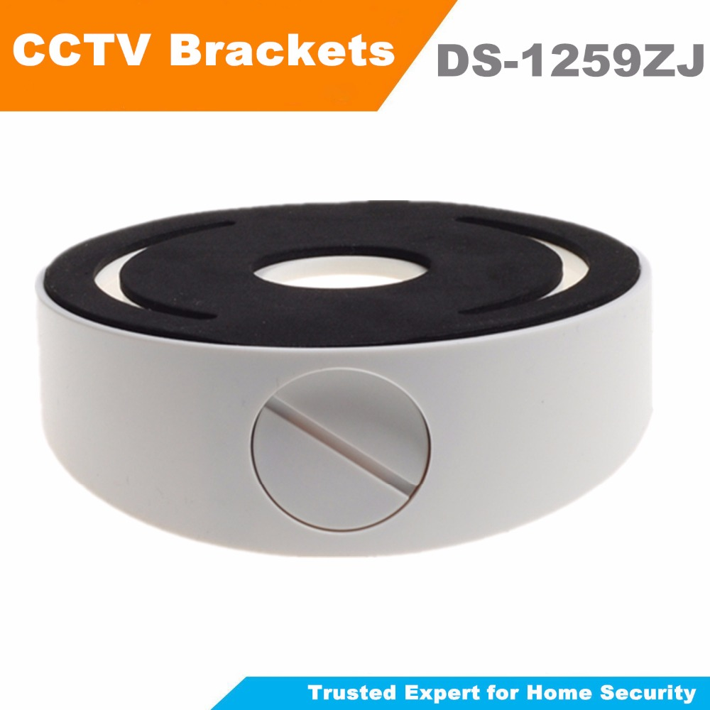 DS-1259ZJ Inclined bottom bracket CCTV Accessories Plastic Wall Mount Suitable For Dome Camera DS-2CD2132f-Is IP Camera Bracket ds 1276zj corner mount bracket for cctv camera