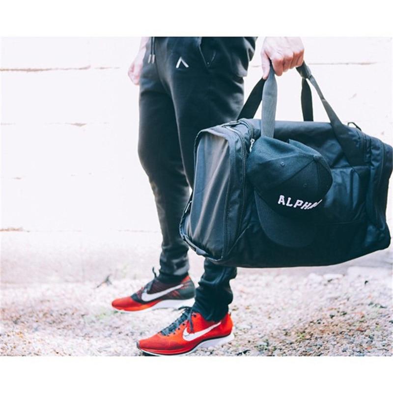 2018 Trouser Leg Zipper Mens Pants Bodyboulding Cotton Clothing Street Trousers Fitness Jogger Sweatpants Casual Sweat Pants