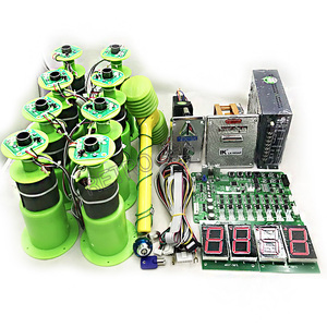 Image 1 - Arcade DIY full kit with motherboard and 8 hitting heads, power supply, dispenser for Hitting frog / mouse hammer game machine