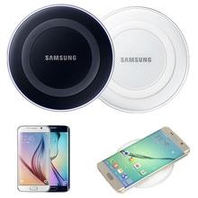 D'origine Samsung Qi Sans Fil chargeur de Téléphone De Charge Pad Pour SAMSUNG GALAXY S6 S6 Bord S7 S7 Bord Note5 tous les Qi dispositifs EP-PG920I