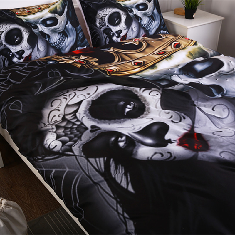 skull bedding sets 6