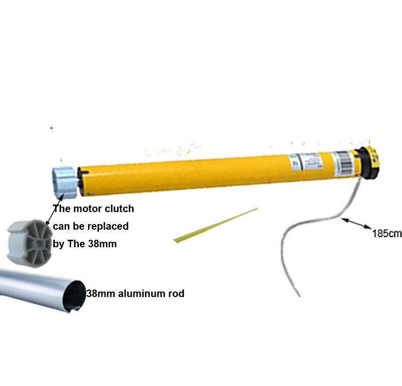 Intelligent Rideau, automatique DC Tubulaire Électrique Rideaux Moteur Rouleau Nuances Aveugles