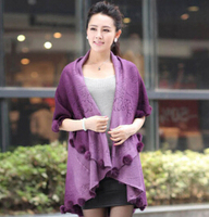 New Arrival Women Cardigan Kimono Sweater Women Woolen Coat Long Cardigan Sweater Shawl Cape Cloak Bat