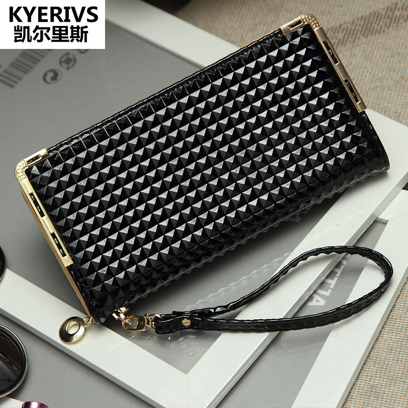 Luxury Brand Womens Wallets and Purses Pu Leather Wallet Women Purse Long Coin Purse Holders Female Wallet Fashion Money Bag bvp luxury brand weave plain top grain cowhide leather designer daily men long wallets purse money organizer j50