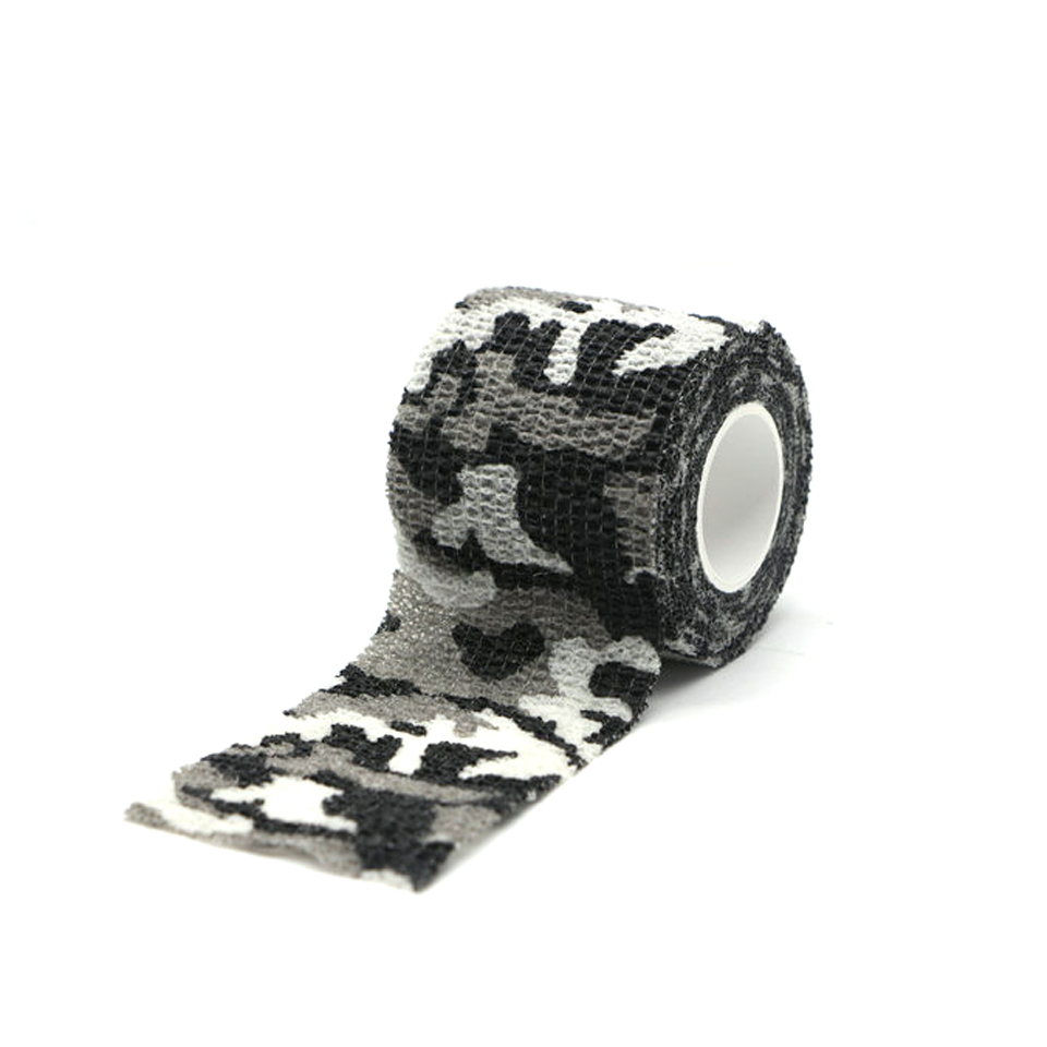 Image 5 - Travel camping Camouflage camouflage Self Adhesive Medical Bandage Gauze Tape First Aid Kit for Sport Ankle Finger Muscle Ankle-in Emergency Kits from Security & Protection