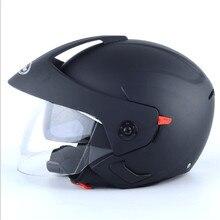3/4 Jet helmet DOT approved open face motorbike helmet Moto Casco double lens pink women helmet and men цена в Москве и Питере