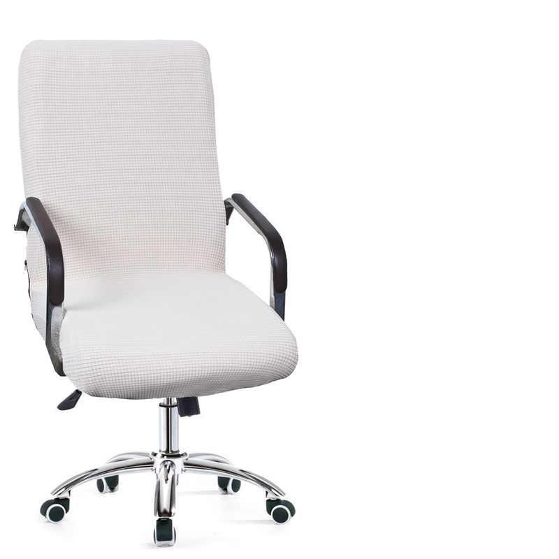 Новый 9 цветов современный спандекс чехол для компьютерного стула 100% из полиэстера и эластичной ткани накидка на офисный стул легко моющиеся съемные