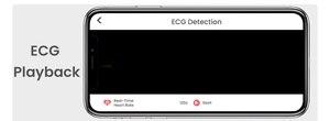Image 3 - Makibes BR4 ekg PPG inteligentny zegarek mężczyźni z elektrokardiogramem wyświetlacz Holter pulsometr ciśnienie krwi inteligentny zegarek android