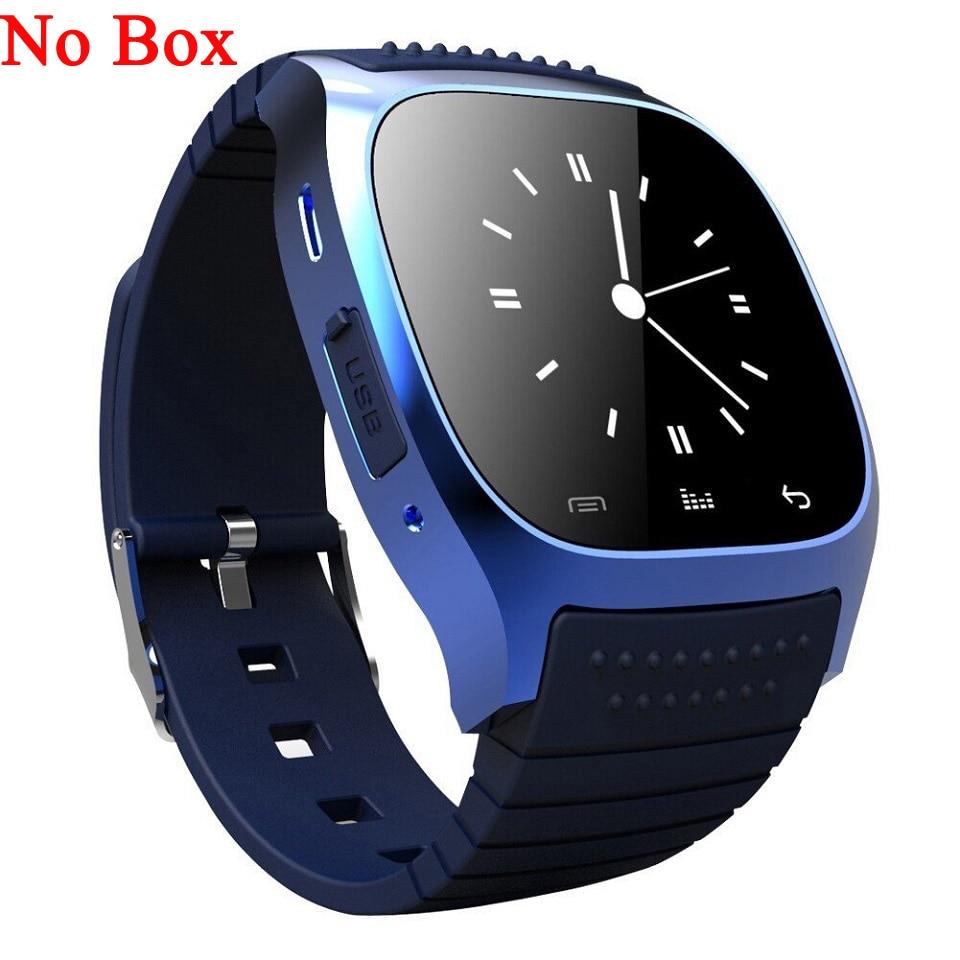 d5070d53b Tiempo propietario M26 reloj inteligente Bluetooth Android relojes reloj Smartwatch  para IOS Android Smartphone Xiaomi dispositivos de tecnología de vestir ...