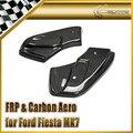 Автомобиль стайлинг Для Ford Fiesta MK7 Facelift MD Стиль Углеродного Волокна Задний Плюнул (Fit МК7 ST/STLine/Zetec S версии 2013) На Складе