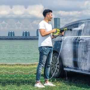 Image 5 - JIMMY JW31 inalámbrico de mano automóviles lavado pistola de coche de presión arandela de espuma para nieve movido por agua limpiador de boquilla