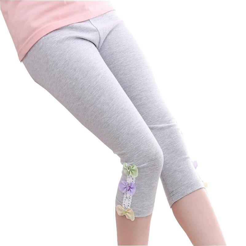 Ywstt 2018 nowe dzieci dziewczyny ołówek spodnie bawełniane - Ubrania dziecięce - Zdjęcie 2
