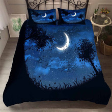 Bedding Set 3D Printed Duvet Cover Bed Set Sea Fantasy fairy forest Home Textiles for Adults Bedclothes with Pillowcase #MJSL03 шторы тканевые seven fairy home textiles 6036 5