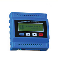 TUF 2000M TS 2 Digital Ultrasonic Flowmeter Flow Meter Ultrasonic Flow Module RTU with TS2 transducer (DN15 100mm) 30 to 90C