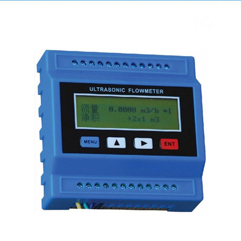 TUF-2000M-TS-2 Numérique À Ultrasons Débitmètre Débitmètre Débitmètre À Ultrasons Module RTU avec TS2 transducteur (DN15-100mm)-30 à 90C