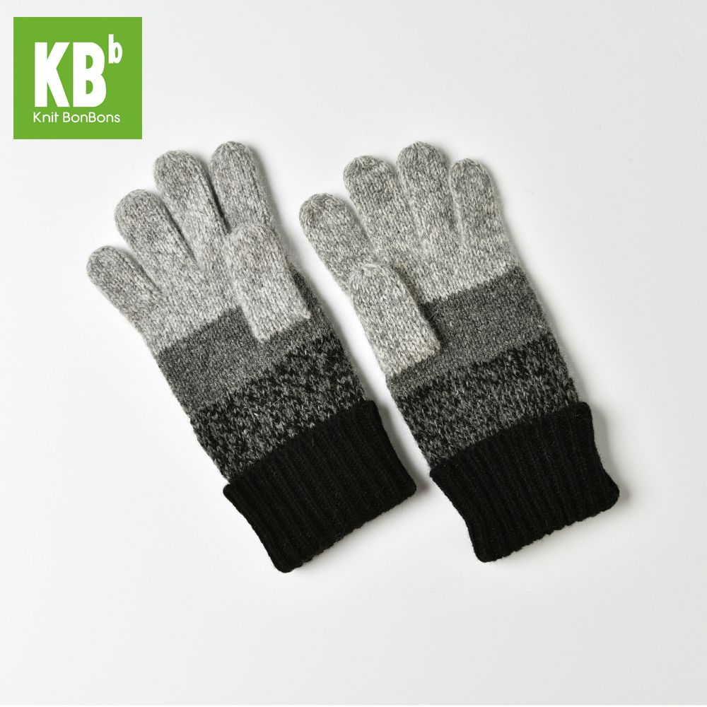 KBB Xmas Black Friday Women Men Comfy Gray Designer Lambswool Wool Knit Pom Pom Winter Fingerless Gloves Whole Gloves