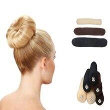 1PC New Women Lady Magic Shaper Donut Bun Maker Hair Ring Accessories Styling