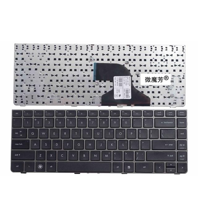 الولايات المتحدة رمادي جديد لوحة مفاتيح إتش بي الإنجليزية لprobook 4330s 4430s 4431S 4435 4436 لوحة مفاتيح الكمبيوتر المحمول