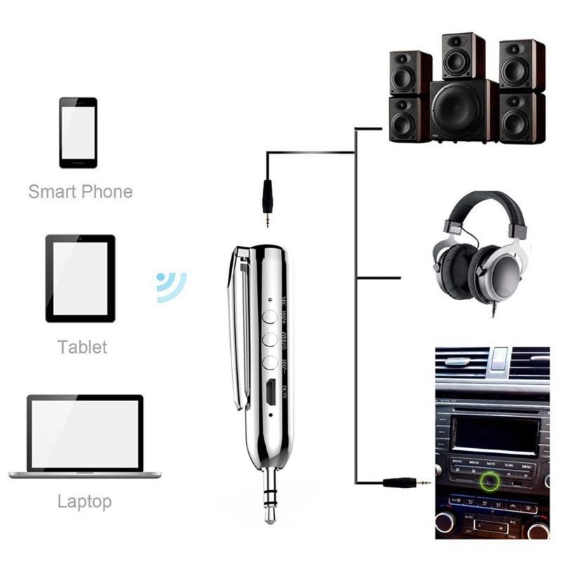 Drahtlose Bluetooth 4,2 Audio Receiver Adapter Doppel Ausgang 3,5mm Aux Jack Für Car Kit Lautsprecher Kopfhörer Unterhaltungselektronik