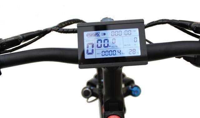 24V 36V 48V Universal 60V 72V Ebike Intelligent LCD3 Display Control Electric Bicycle Conversion Parts KT Controller