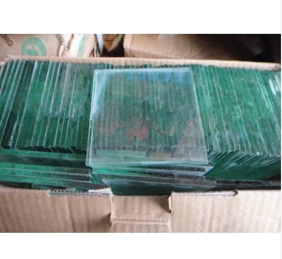 Ciment Vicat Testeur Accessoires 100x100mm Plaque de Verre