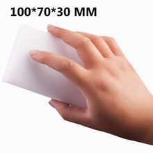 100Pcs/Lot 10*7*3CM White Melamine Sponge Magic Sponge Eraser Nano Wholesale Dish Washing Clean Kitchen Office Bathroom Cleaning(China)