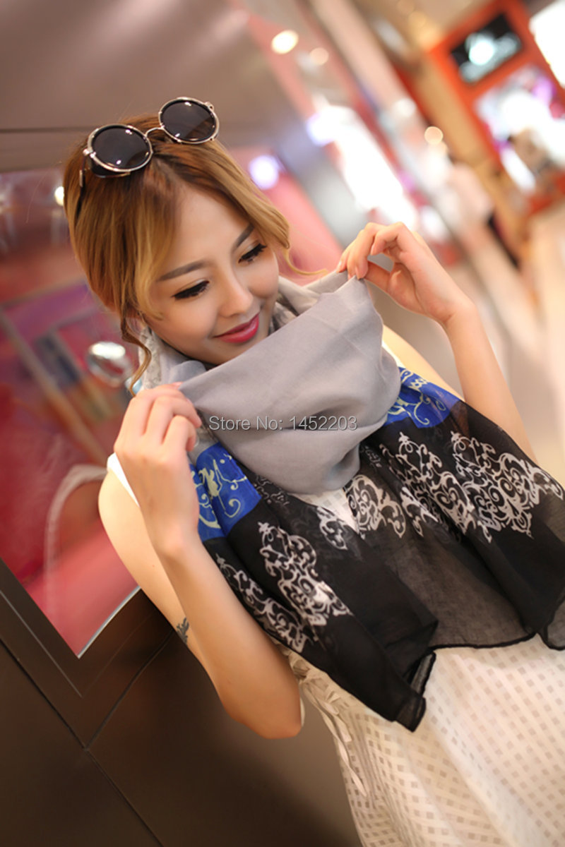 2014 New Special Print Adult Offer musil Design Cotton Scarf Womens Autumn And Winter Bali Yarn Oversized Beach Towel