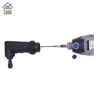 Image 4 - AUTOTOOLHOME fixation pour outil rotatif noir à Angle droit 90 Dgree adapté à la meuleuse électrique Dremel 4000 3000 275 8100