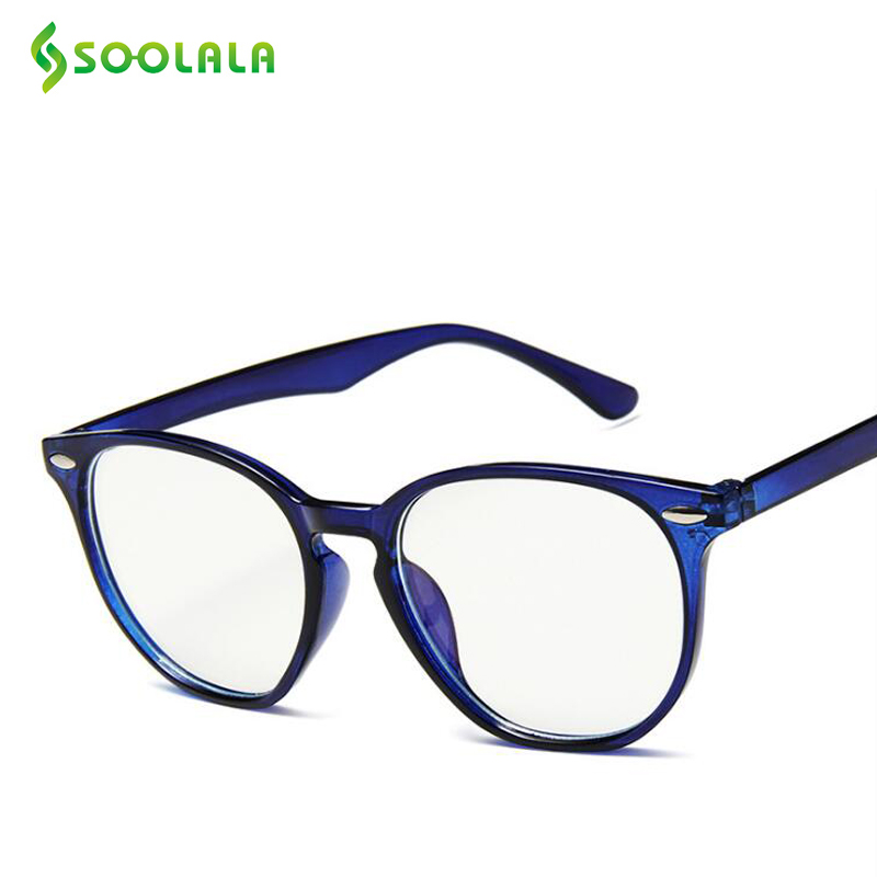 SOOLALA LIGHT-FILTER Glasses Computer-Gaming-Sleepingbetter Anti-Blue Regular Clear Women