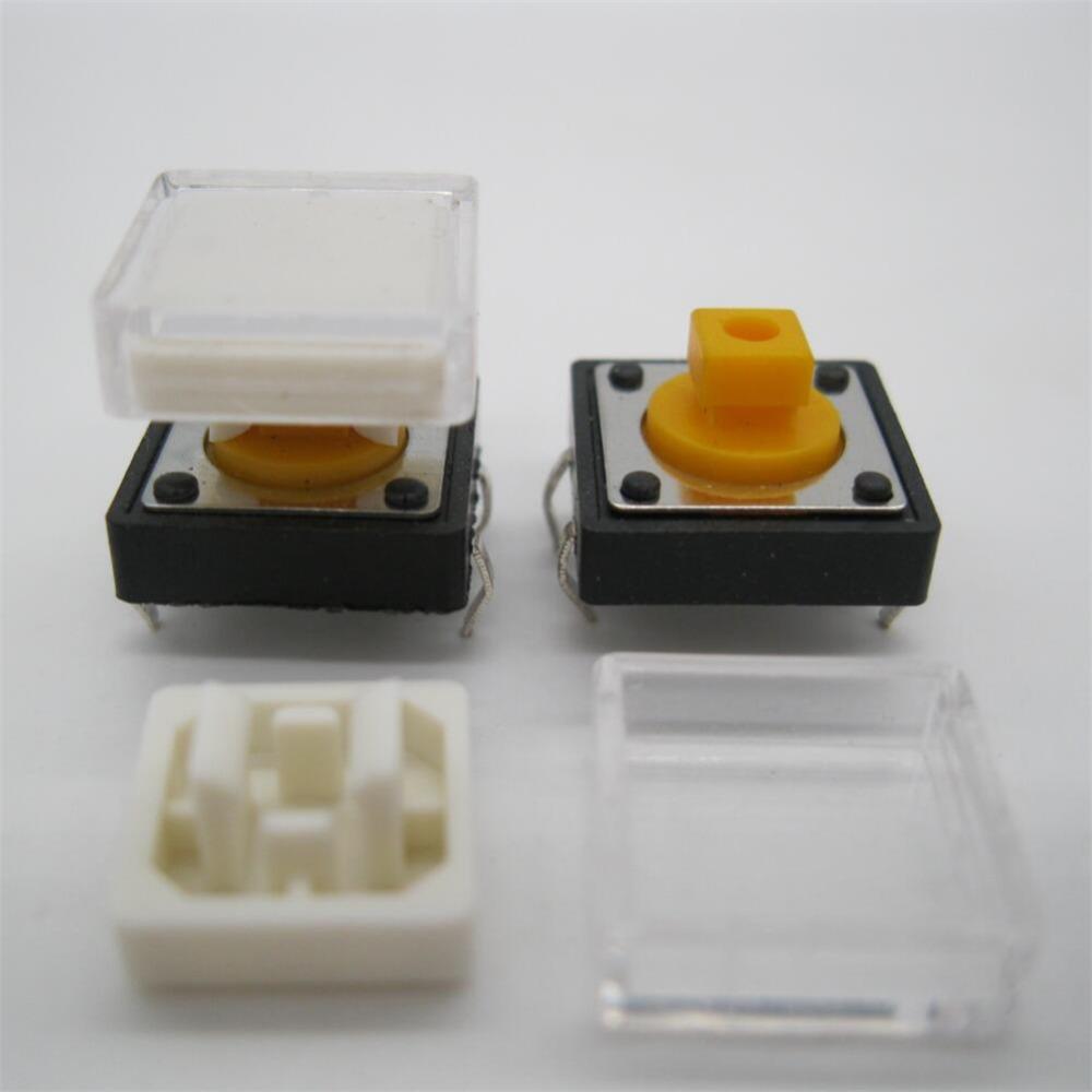 20PCS New B3F Tactile Switch Key Button Switch 12x12x7.3mm B LADS*V* AE
