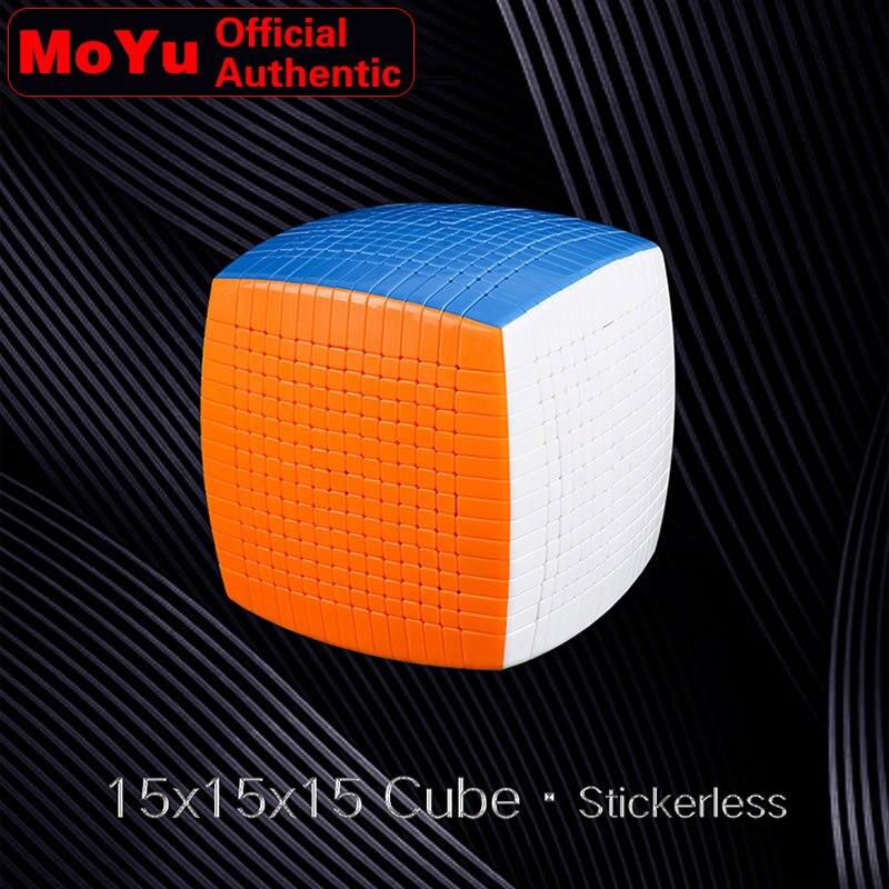 MoYu 15x15x15 Cube magique 15x15 Cubo Magico professionnel néo vitesse Cube Puzzle Antistress Fidget jouets pour enfants