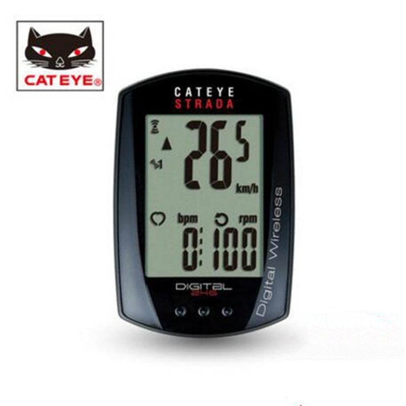 цена на Cateye Cycling Bike STRADA Digital Wireless Computer Speedometer CC-RD410DW
