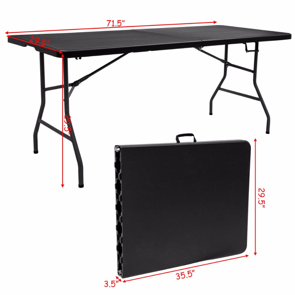 duty with in folding table lifetime foot stunning fold heavy banquet free half
