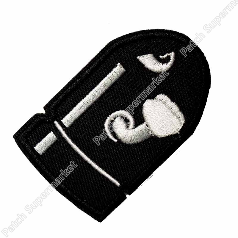 BULLET COMIC SUPER MARIO Movie TV Series Fancy Dress Costume Embroidered iron on patch TRANSFER APPLIQUE