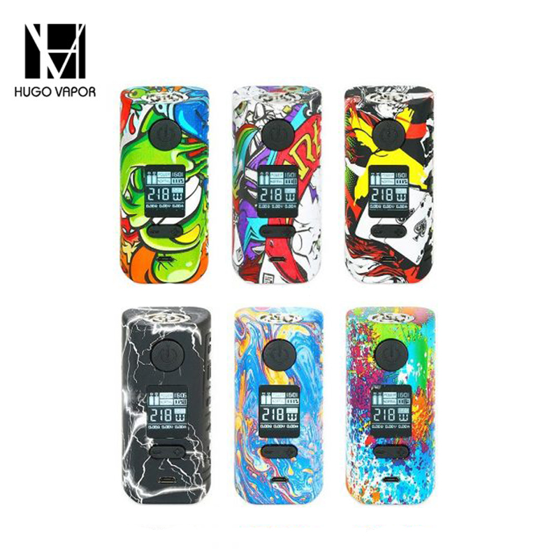 Original Hugo Vapor Rader Mage 218W TC Box MOD Max 218W Output 2A Quick Charge 18650 Battery Vape Box Mod VS Vapor Store Storm new 90w vapor storm eco kit w 2ml vapor storm tank powered by 18650 battery max 90w output vape box mod vs vapor storm storm230