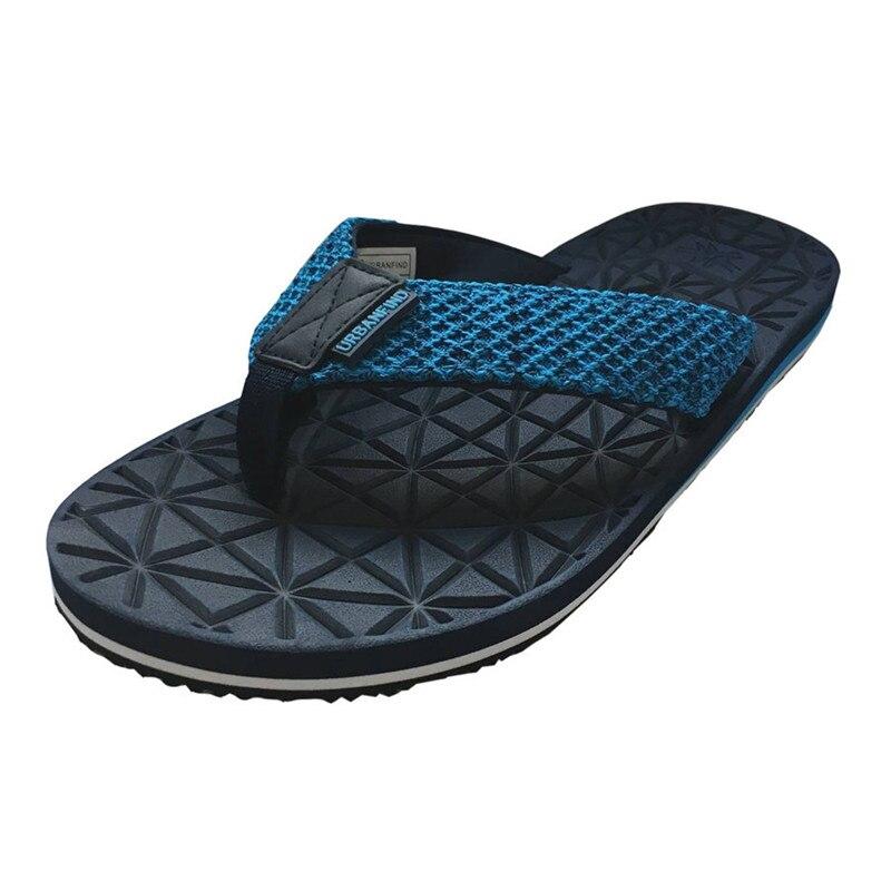 Flip-flops Methodisch Neue Ankunft Männer Casual Hausschuhe Flip-flops Größe 41-46 Atmungs Komfortable Mann Slip-auf Sommer Schuhe Herrenschuhe