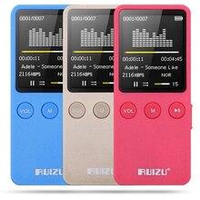 RUIZU X08 MP3 Reproductor de Música 8 GB 1.8 pulgadas de Pantalla 200 Horas Tiempo de la música Súper Espera Apoyo Grabadora de FM TF Tarjeta de la Foto visor