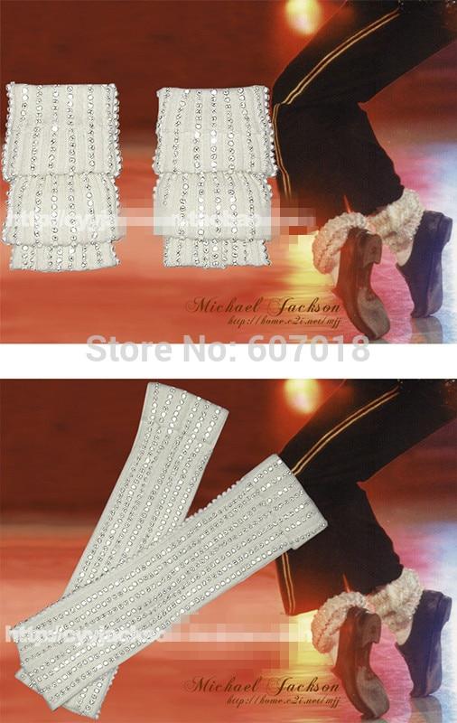 Rare MJ Michael Jackson Classic Collection Moonwalk Dancing shoes Cover  Handmade White Socks Party Hallowmas Gift 34eaaa512