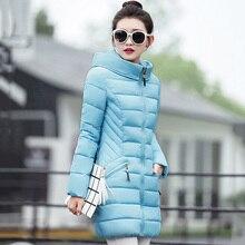 Women Winter Jackets 2016 Thicken Cotton Hooded Parka Coat Overcoat Korean Fashion Plus Size Long Down Jacket Outwear S2505