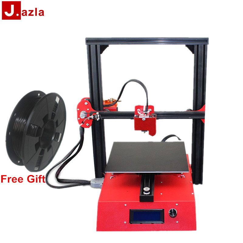 NEW Jazla J1 3D Printer 230 x 230 x 230 DIY Kits 3D Printer Full Metal Frame Printing Support SD Card For Office Home image