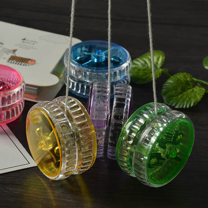 Magic Yoyo Professional Yoyo High Quality Colorful Light Yoyo With Spinning String Classic Funny Toys Diabolo Gift Kids Toy Pakistan