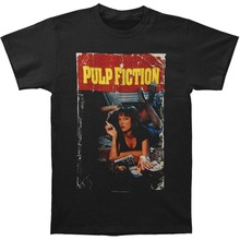 Designer T Shirts Tall Pulp Fiction O-Neck Short Sleeve Mens Shirt