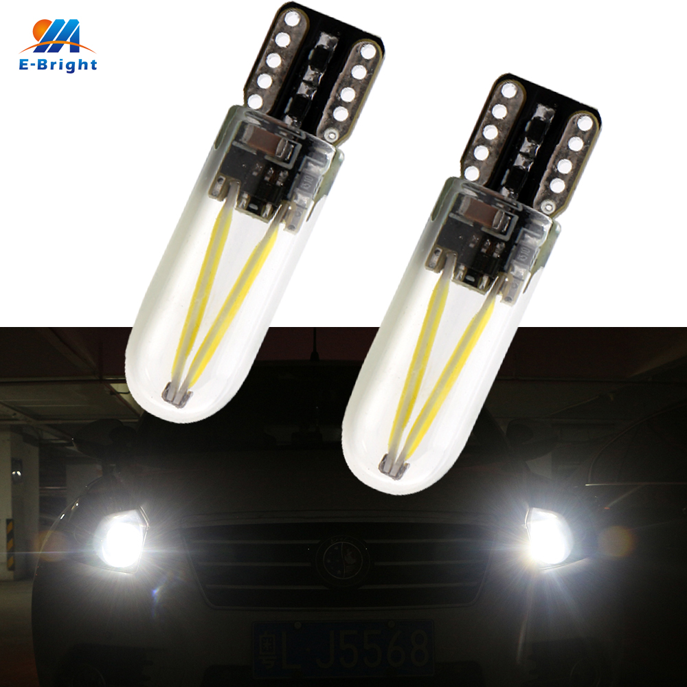 YM E Bright 100PCS/Lot 12V DC T10 194 168 W5W Led COB 30 SMD Glass Shell  Interior Bulbs Clearance Lights White 12V 24V-in Signal Lamp from Automobiles & Motorcycles    1